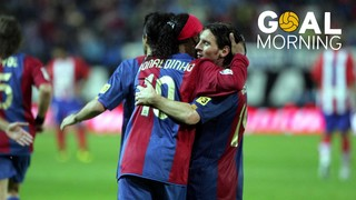 Goal Morning! Golazo of a young Messi