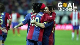 Goal Morning! Golazo de un joven Messi