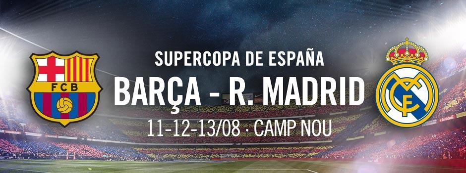 ENTRADAS SUPERCOPA DE ESPAÑA: FCB vs MADRID