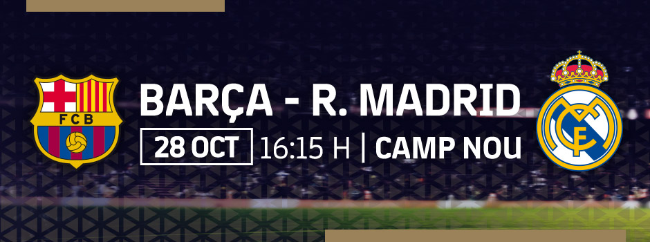 ENTRADAS VIP FC BARCELONA VS REAL MADRID
