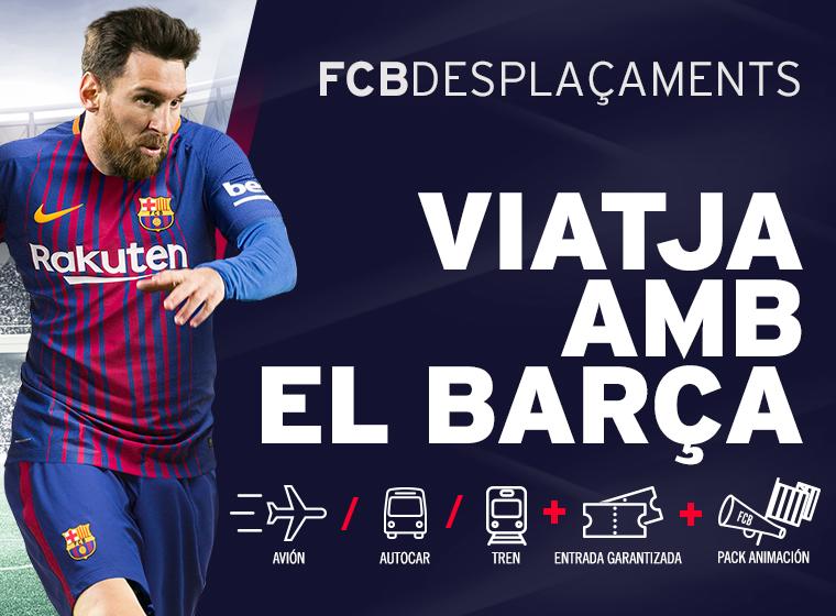FCB DESPLAÇAMETS