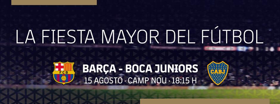 ENTRADAS VIP FC BARCELONA VS BOCA JUNIORS
