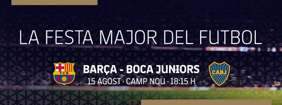 Compra entrades VIP FC BARCELONA VS BOCA JUNIORS