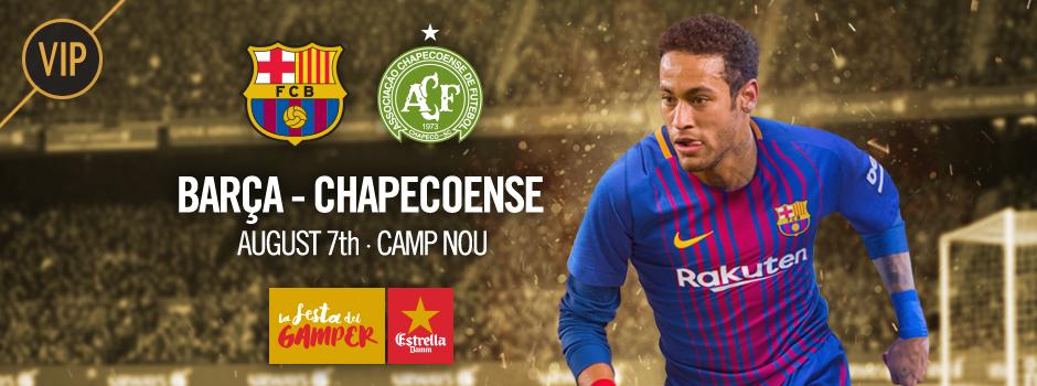FCB - CHAPECOENSE