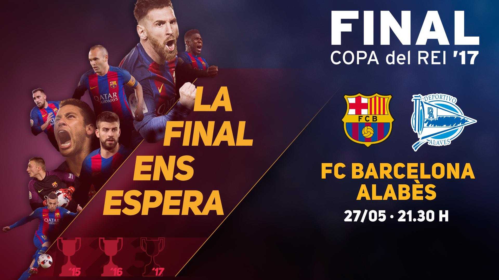 Thumbnail for Així han estat les hores prèvies a la final de Copa / Así han sido las horas previas a la final de Copa