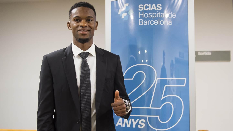 Thumbnail for Nélson Semedo arrives in Barcelona, minute by minute