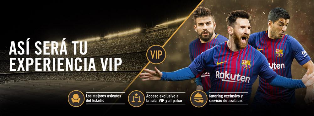 Todo sobre VIP: Vive la experiència VIP al Camp Nou