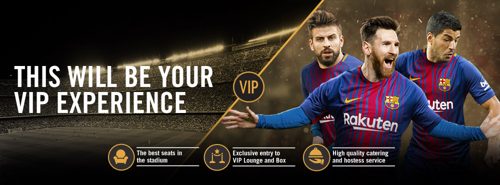 Enjoy your VIP Experience at the Camp Nou