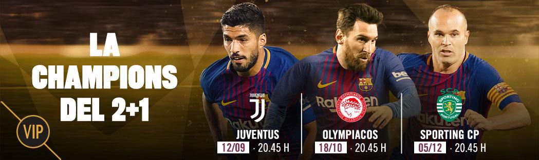 Entradas Champions Barcelona