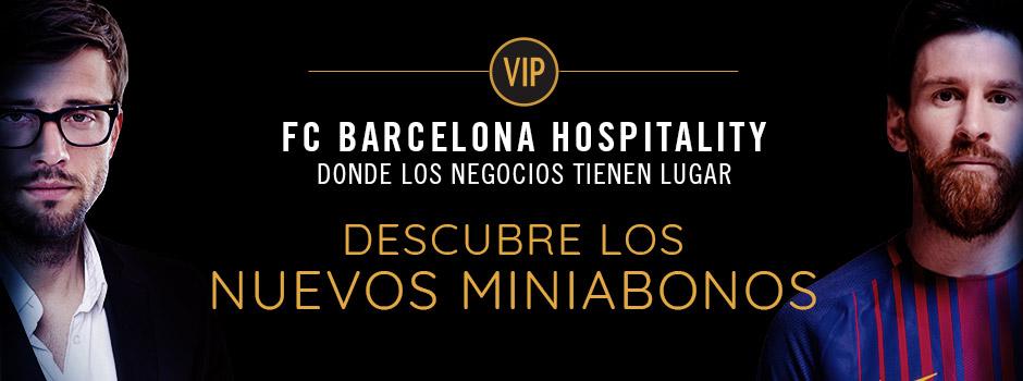 MINIABONO VIP FC BARCELONA