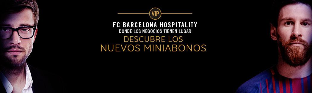 MINIABONOS VIP FC BARCELONA