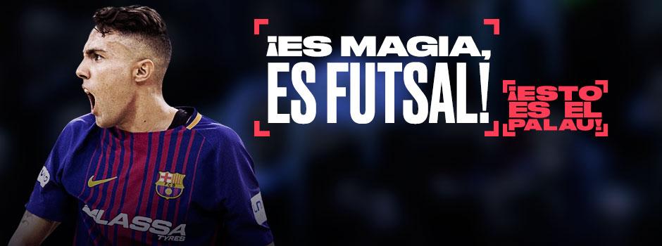 ENTRADAS FC BARCELONA FUTSAL