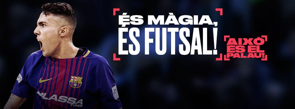ENTRADES FC BARCELONA FUTSAL