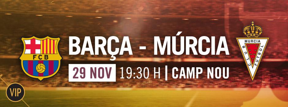 Entradas VIP FC Barcelona - MURCIA