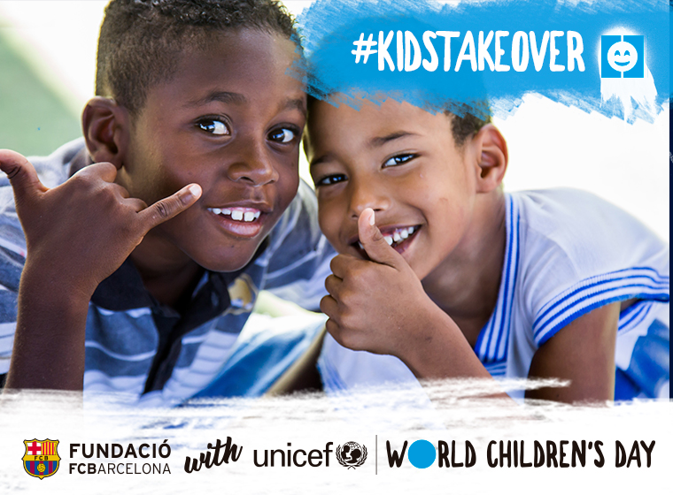 The Foundation and UNICEF support World Children's Day