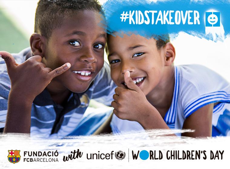 La Fundació i l'UNICEF, amb el Dia Mundial de l'Infant