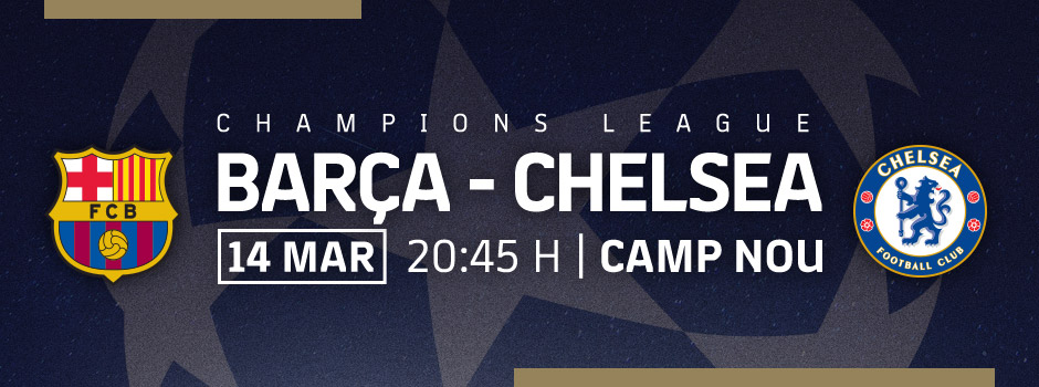 Entradas VIP Champìons League FC Barcelona-Chelsea