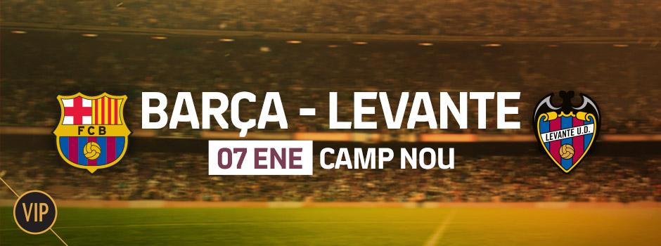 Entradas VIP FC Barcelona - Levante