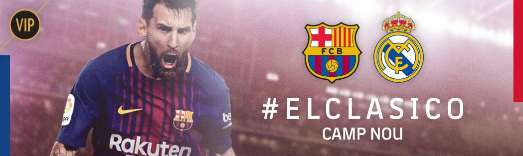 VIP tickets FC Barcelona-Real Madrid
