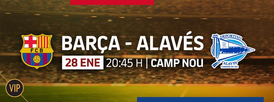 Entradas VIP LA LIGA FC BARCELONA - ALAVÉS
