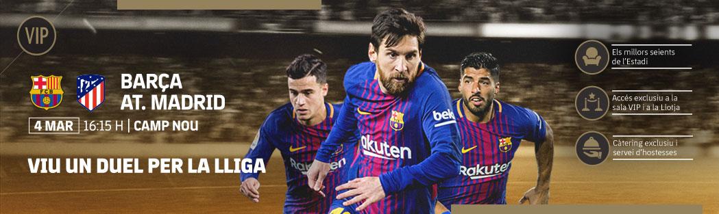 Entradas VIP FC Barcelona - Atletico Madrid