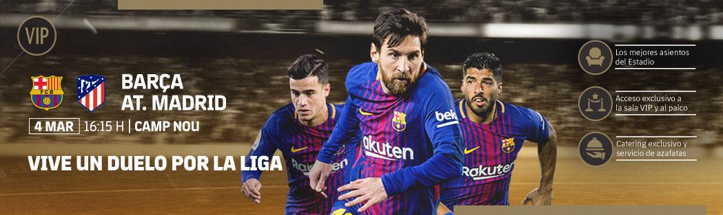 Entradas VIP FC Barcelona - Atlético Madrid