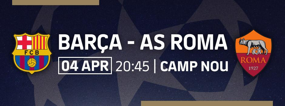 BUY VIP TICKETS LA LIGA FCB - AS ROMA