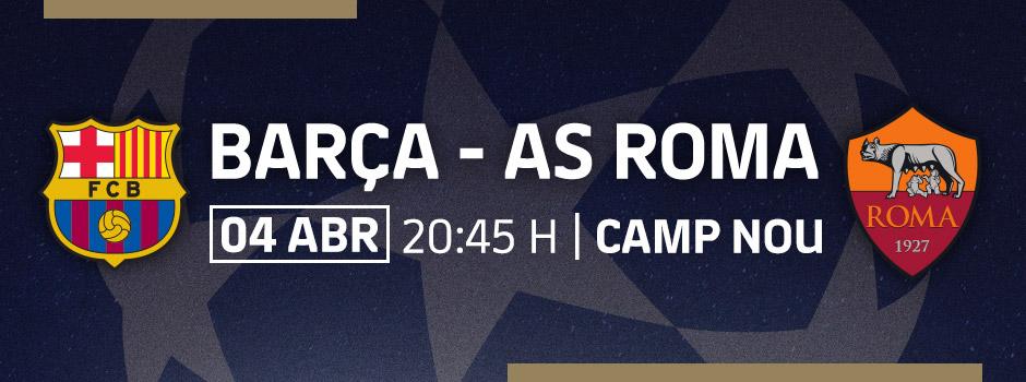 Entradas VIP LA LIGA FC BARCELONA - AS ROMA