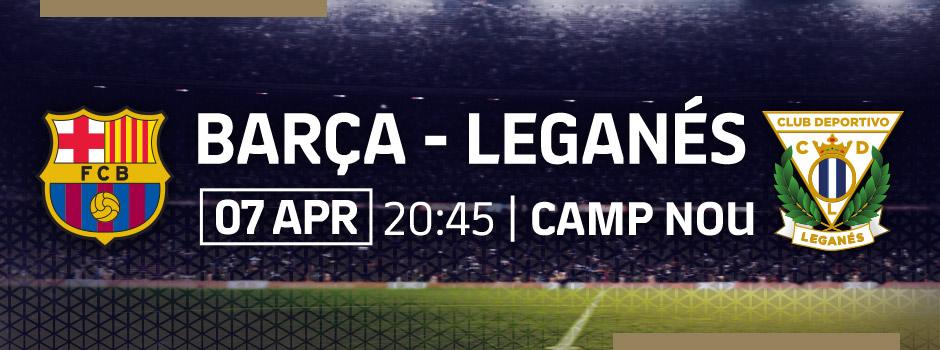 BUY VIP TICKETS LA LIGA FCB - LEGANÉS