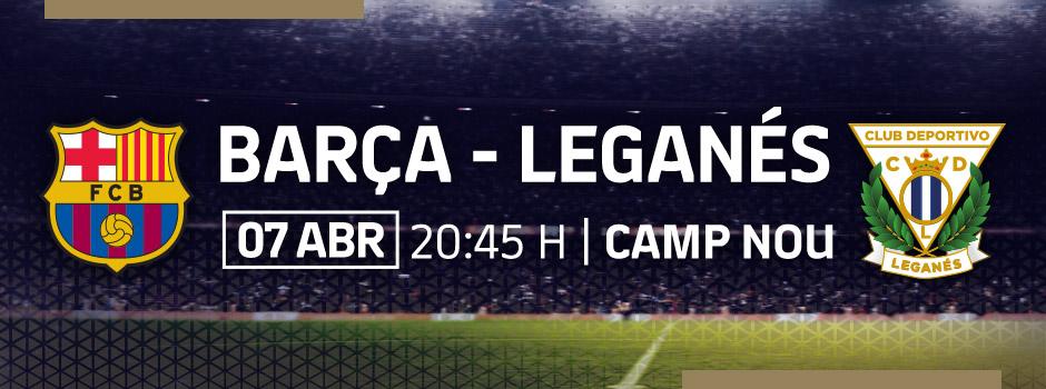 Entradas VIP LA LIGA FC BARCELONA - LEGANÉS