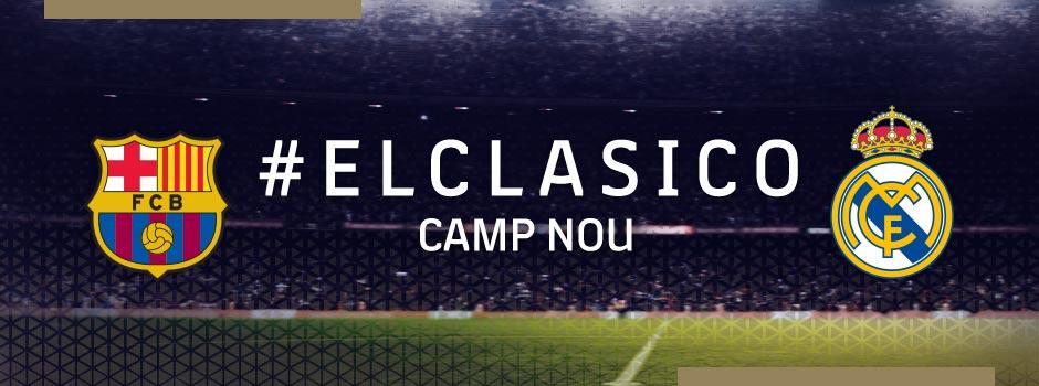 Tickets VIP FC BARCELONA VS REAL MADRID