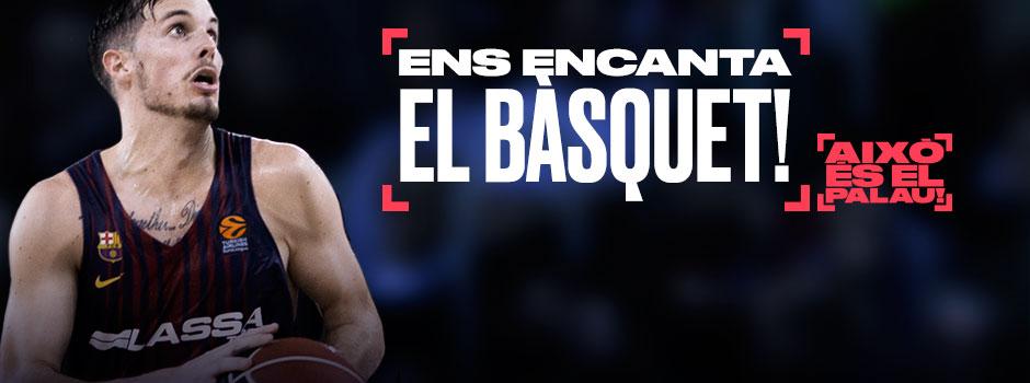ENTRADES BÀSQUET BARÇA - BASKONIA