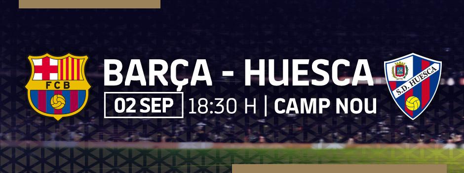 ACHETER BILLETS VIP BARÇA - HUESCA