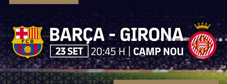Compra entrades VIP FC BARCELONA VS GIRONA