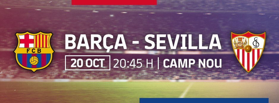 ENTRADAS OFICIALES FCB vs SEVILLA 18/19